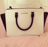 michael kors selma purse, Other, michael kors black and white medium sized selma purse bought orginally at $400
