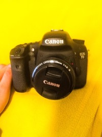 DSLR Camera, Electronics, Canon 7D, Canon 7D - bought it last year. well-functioned and no damage or any problem when it comes to the functions. slightly used. For the accesories it comes with