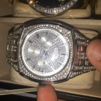 Bulova Crystal Watch, Luxury Watch, Bulova 96COO2, Its a Bulova Crystal watch  I bought it for $525. Its flashy and nice.