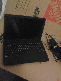 "toshiba satellite laptop, Electronics, model number c855d-s5106, 15.6"" notebook"