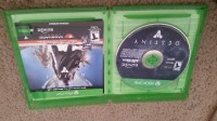 Destiny video game, Electronics, Xbox one platform, Expanstion pass and game add on content is included