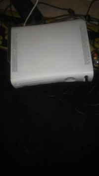 White XBox 360, Electronics, Xbox 360 , White XBox 360 with 120 GB Hard Drive.