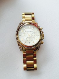 Gold Michael Kors watch , Luxury Watch,