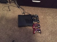 Xbox 360, Luxury Watch, Slim Xbox 360 320 gb, Slim Xbox 360 with 4 controllers 320gb hard drive slightly used loaded with game on hard drive some games that's on hard drive is assassin creed 2 and 4 nba2k14 call of duty black ops 2 call of duty modern warfare 2 and 3 payday2 grand theft auto 5 gears of war 2&3 also gears of war judgement saint row 3