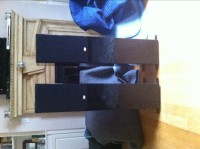 NHT ST4 floor standing speakers ( both left and right), Electronics, NHT ST4, High gloss black, great condition