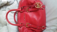 Red Michael Kor Purse, Other, Red Michael Kor Satchel Purse