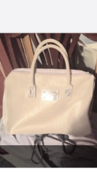 Michael KORS purse , Other, Silver Beige Michael Kors bag Barely worn. Brand new look