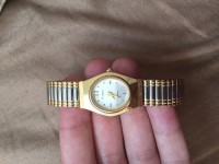 Watch, Jewelry, There's a few small scratches but it's in very good shape.