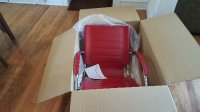Red Leather Executive Manager's Chair, Other, SAF3456RD (Safco)