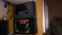 Xbox one, Electronics, Microsoft, Games on hardrive just have to keep certain account on the xbox two controllers and one game