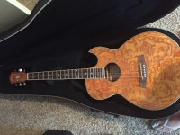 Guitar , Musical Instruments, Equipment, Ibanez  aes10eam1202 acoustic electric guitar