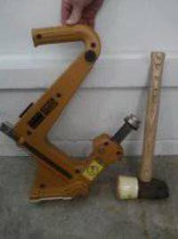 BOSTITCH NAILER, like-new, manual, Bostitch, Cleat nailer for hardwood floors, for sale., Like new