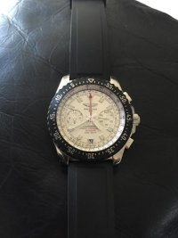 Breitling Watch, Luxury Watch, Breitling Chronograph, Rubber band