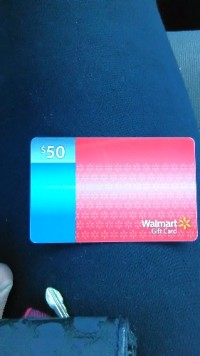 Sell or buy a used Walmart Gift card