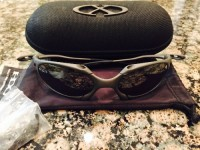 Oakley X-METAL ROMEO 1.0, Other, Oakley X-METAL ROMEO 1.0 Titanium Sunglasses with bullet proof lenses. Original X-METAL sunglasses case and all original unused size/fit adjustment pieces in plastic bag.