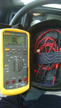 George Kimbro, Electronics, Fluke, Fluke 87v  true RMS multimeter