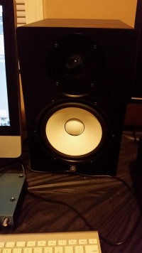 Yamaha HS8, Musical Instruments, Equipment, Powered studio monitor