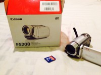 Digital camcorder, Electronics, Digital camcorder like new in box, comes with cables. SD slot for memory card.