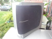 JVC Powered Subwoofer, Electronics, JVC , model # SP-PWC50, Good condition , not used much.