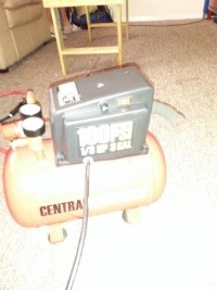 Central pneumatic 3 gallon air compressor, Tools, Equipment, Central pneumatic