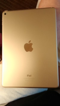 iPad air2, Electronics, Apple model A1566, 16gb,gold,10 inch screen with retna display