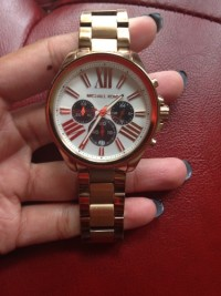 MK watch, Luxury Watch, Michael Khors, no scratches,