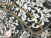 10k gold chain, Jewelry, 10K gold chain. 78 gram weight., 10K gold chain. 78 gram weight. It's a chino link 24.5 inches long and 3/8 inches thick. Willing to sell or pawn.
