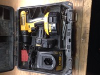 cordless drill, Tools, Equipment, Dewalt dc730 14.4v drill, charger, 2 batteries, case