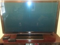 Panasonic 65inch 3D HD 1080P TV, Electronics, Panasonic, TC-P65VT25, Two 3D Glasses Included.