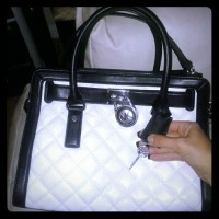 purse, Other, Michael Kors Quilted Hamilton purse.... Purchased from Dillard's for $347+tax. Perfect condition