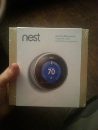 Nest thermostat, Electronics, nest