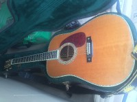 Acoustic guitar, Musical Instruments, Equipment, 2005 Martin D-42 pearl inlay