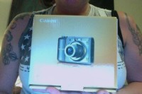 Canon PowerShot A1100 IS 12.1 MP Compact Digital Camera - Silver, Electronics, Canon PowerShot , New In Box