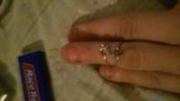 2 gold 14k rings, Jewelry, 2.56, Weight of both is 2.56 14k with dimonds