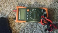 Multimeter , Tools, Equipment, Klein MM200 with leads