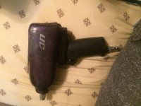 Snap on air gun MG725, Tools, Equipment, Sparkle purple snap on air gun MG725 with a red cover