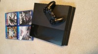 Playstation 4, Electronics, Sony Playstation 4, Cables and controller
