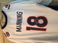Peyton Manning Autographed Broncos Jersey, Antique, Collectible, New still with tags, 4 jerseys
