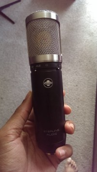 Microphone, Musical Instruments, Equipment, Sterling St55 Condenser Microphone
