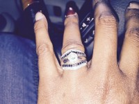 Ring, Jewelry, 1caret , Solitaire ring with diamond wrap sold separate