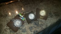 3 MK watches, Luxury Watch, Micael Kors, only a year old.