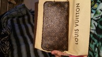Louis Vuiton Clutch Wallet, Other, Beautiful LV wallet, no scraps  or smudge. Only taken out of box once.... Authentic....