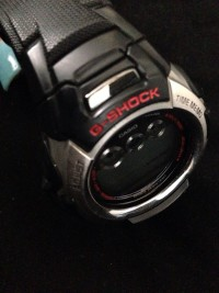 Casio G shock watch, Black shock/ water resistant 20BAR