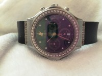 Hublot Watch with manufacturer diamonds, Luxury Watch, Hublot Classic Men