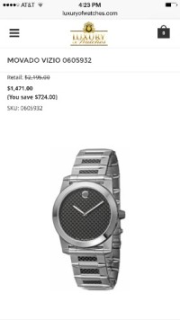 Mavado Vizio Carbon Fiber Watch , Jewelry, Silver Mavado Carbon Fiber Watch. With tungsten steel Bessel.