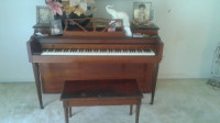 piano, Musical Instruments, Equipment, It's a coronet up right piano it's in great condition