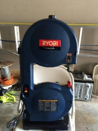 9 inch band saw, Tools, Equipment, Ryobi 9 inch band saw. Model BS901