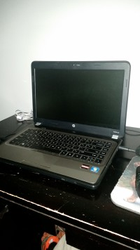 laptop, Electronics, hp pavilion g4 1215gx, The screen is 14in. The laptop has a Amd A4-3300m APU with Radeon HD graphics (1.9GHz) and 4gb of ram. The computer's rating is a 4.3 on a scale from 1 to 7.9.