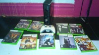 Xbox 360 wth 2 controllers and games, Electronics, Xbox 360 slim, All black xbox 360 slim with controllers ,250gb hard drive.  Games included:Halo Reach,Halo 4,Dead rising,resident evil,fable 3,batman arkham origins,godfather,mafia 2 and dragon ball xenoverse.