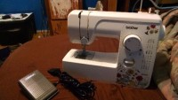 Brothers sewing machine, Tools, Equipment, Brothers sewing machine works very well. Missing bobbs, rarely used.